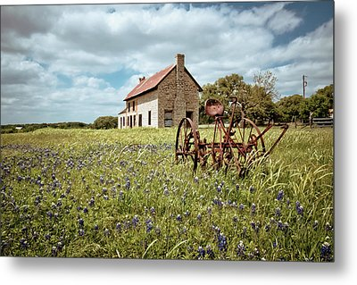 Metal Print featuring the photograph Dreams Of Long Ago by Linda Unger