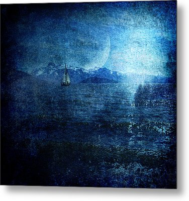 Dreams Of Sailing Metal Print by Michele Cornelius