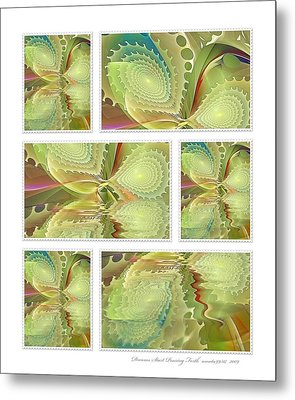 Dreams Start Pouring Forth Metal Print by Gayle Odsather