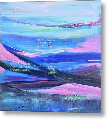 Metal Print featuring the painting Dreamscape by Irene Hurdle