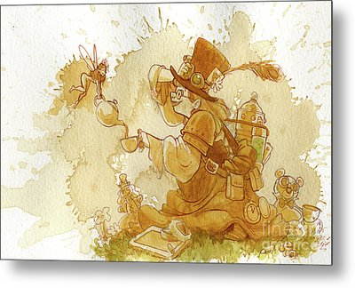Dress Up Metal Print by Brian Kesinger