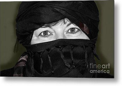 Dressed For The Sand And Sun Metal Print