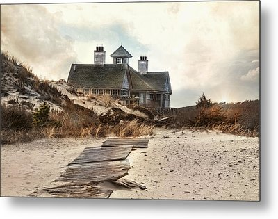Metal Print featuring the photograph Driftwood by Robin-lee Vieira
