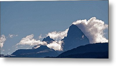 Drigg's View - Tetons - Signed Limited Edition Metal Print by Steve Ohlsen