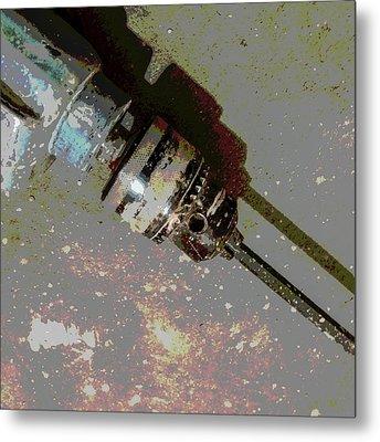 Drill Metal Print