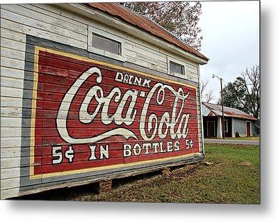 Drink Coca-cola Metal Print by Lynn Jordan