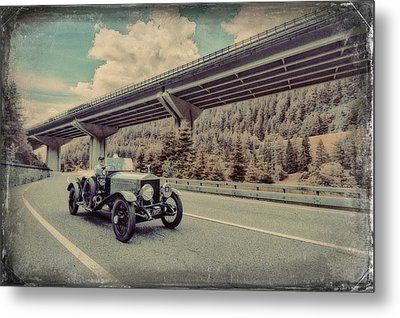 Drive To The Brenner Pass Metal Print by Duschan Tomic