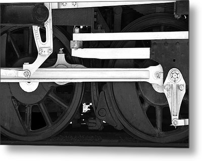 Drive Train Metal Print by Mike McGlothlen