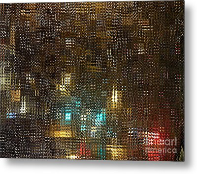 Driving Rain Metal Print by Sarah Loft
