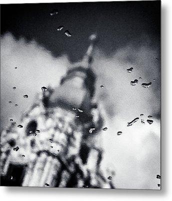 Droplets Metal Print by Dave Bowman