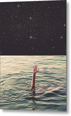 Drowned In Space Metal Print by Fran Rodriguez