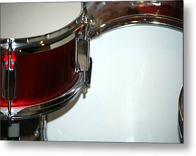 Drum 6 Metal Print by Jame Hayes