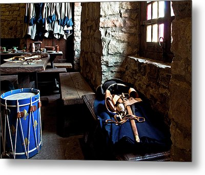 Drum Corps 3 Metal Print by Peter Chilelli