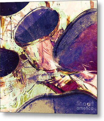 Drum Roll Metal Print