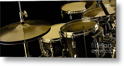 Drums Collection Metal Print