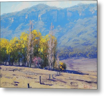 Dry Autumn  Metal Print