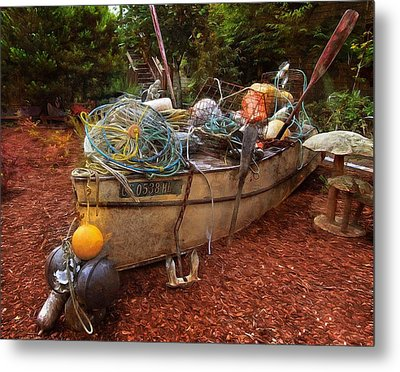 Metal Print featuring the photograph Dry Dock Art by Thom Zehrfeld