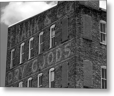 Dry Goods Metal Print by David Lee Thompson