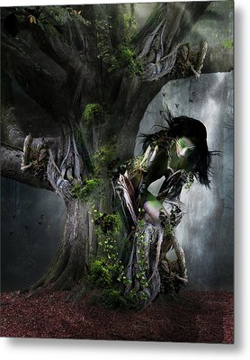 Dryad's Dance Metal Print by Mary Hood