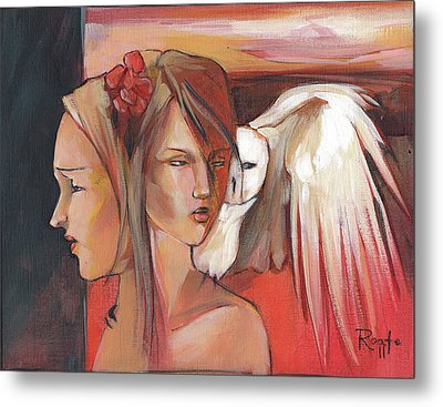 Duality Metal Print by Jacque Hudson