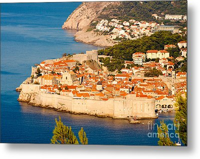 Dubrovnik Old City Metal Print by Thomas Marchessault