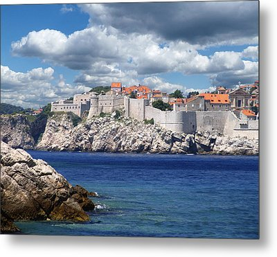 Dubrovnik On The Adriatic Metal Print by Don Wolf
