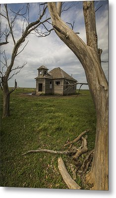 Dubuque One Room School House Metal Print