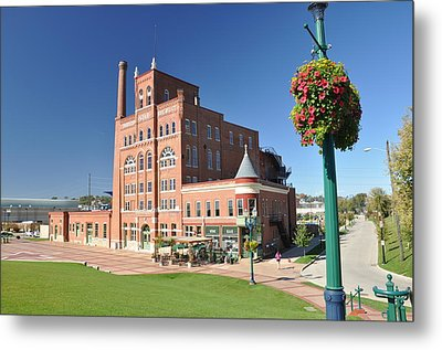 Dubuque Star Brewery Metal Print