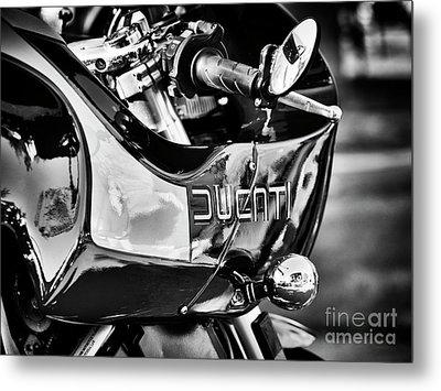 Ducati Mh900 Evoluzione Monochrome Metal Print by Tim Gainey