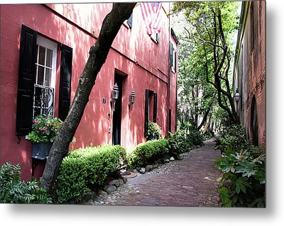 Dueler's Alley Metal Print