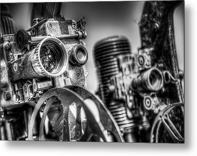 Dueling Projectors Metal Print by Scott Norris