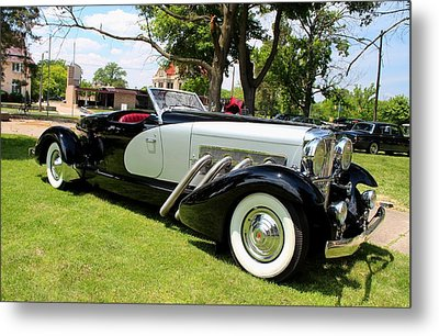 Metal Print featuring the photograph Duesenberg Vii by Michiale Schneider