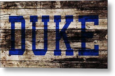 Duke Blue Devils 5b Metal Print by Brian Reaves