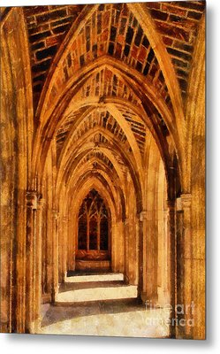 Duke Chapel Metal Print by Betsy Foster Breen