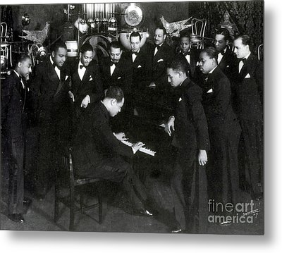 Duke Ellington And Cotton Club Metal Print
