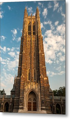 Duke University Chapel Metal Print