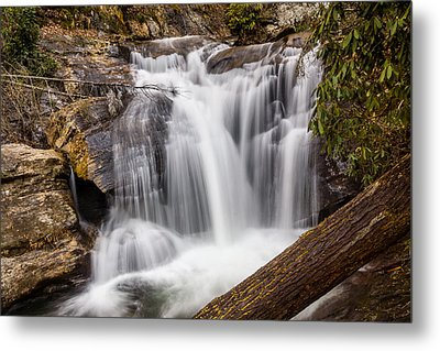 Dukes Creek Falls Metal Print by Michael Sussman
