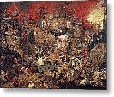 Dull Gret Metal Print by Pieter the Elder Bruegel