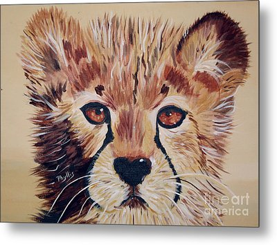 Metal Print featuring the painting Duma by Phyllis Kaltenbach