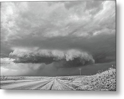 Dumas Wall Cloud Metal Print
