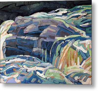 Dumoine Granite Ledge Metal Print