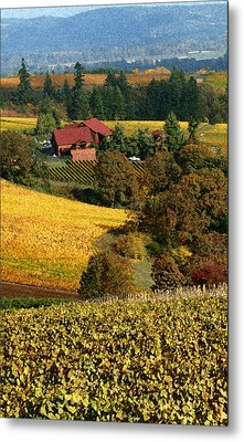 Dundee Red Hills  Metal Print