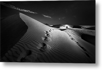 Dune Path Metal Print by Kerstin Arnemann