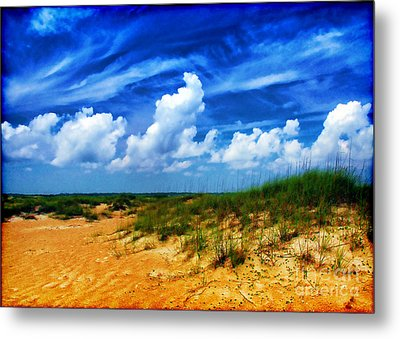 Dunes At Bald Head Island Metal Print