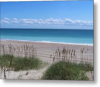 Metal Print featuring the photograph Dunes On The Outerbanks by Sandi OReilly
