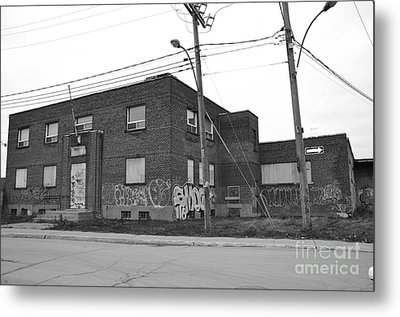 Dunn Street Montreal Metal Print by Reb Frost