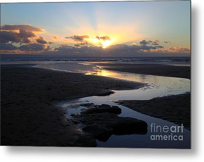 Dunraven Or Southerndown Bay South Wales Metal Print by James Brunker