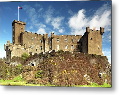 Metal Print featuring the photograph Dunvegan Castle by Grant Glendinning