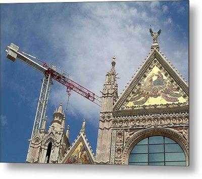 Duomo Di Siena Metal Print