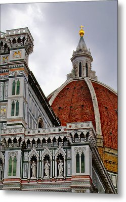 Duomo Metal Print by Lynn Andrews